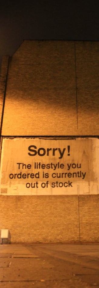 Banksy - Street Art - Lifestyle Out of Stock