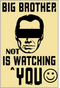 Big Brother Is NOT Watching You