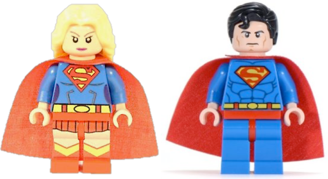 super woman and man