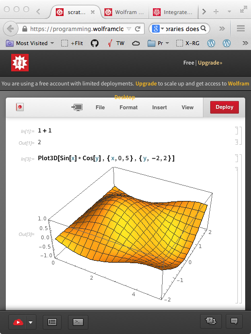 Mathematica REPL