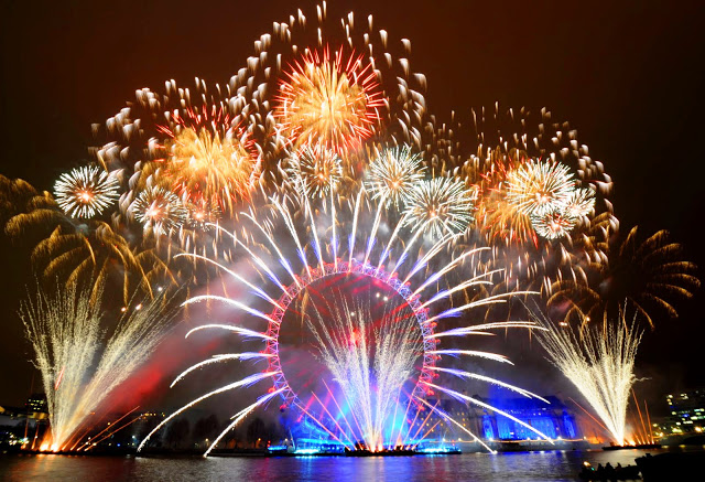 London Fireworks 2015