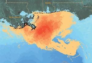 20101020 gulf oil spill map